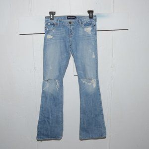 Abercrombie destroyed girls jeans size 14